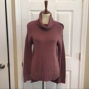NWT Halogen Nordstrom Pink Cowl Neck Sweater